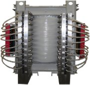 DC smoothing reactor high current rectifier