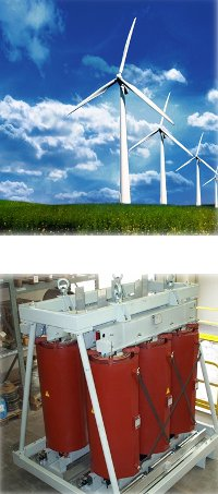 Transformers for wind power plants